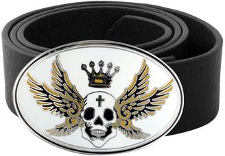 King Baby Studio Seraphim Skull Enamel Buckle