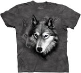 The Mountain Men's Wolf Portrait Short Sleeve T-Shirt