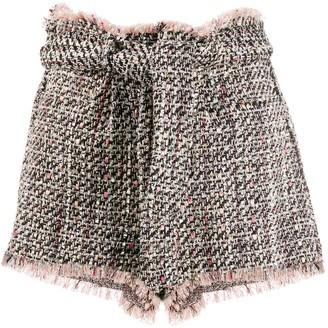 IRO Vany tweed shorts