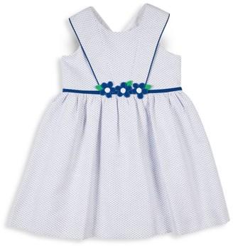 Florence Eiseman Little Girl's Birdseye Pique Dress