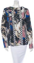 Thakoon Lace Paneled Top