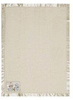 Baby Boom Precious Moments Coral Fleece Blanket (Ivory)