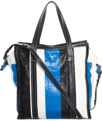 Balenciaga Multicolor Leather Agneau Bazar Shopper Tote