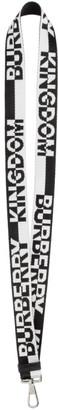 Burberry Black and White Kingdom Keychain