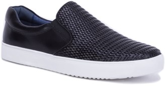 Robert Graham Dion Leather Sneaker