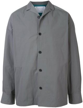 Kolor Oversized Buttoned Shirt Jacket