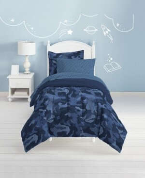 Dream Factory Geo Camo 5-Pc. Full Bed-in-a-Bag Bedding