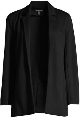 Eileen Fisher Notch Collar Jersey Knit Jacket