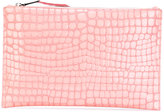 Rochas large zip clutch - women - Goat Skin - One Size