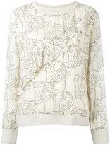 Essentiel Antwerp - Necaf T-shirt - women - Silk/Viscose - 38