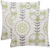 Safavieh 2-piece Flower Power Outdoor Throw Pillow Set