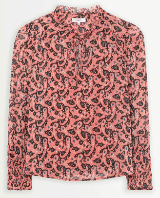 Suncoo Lilias Grenadine Blouse - Size 1 UK8