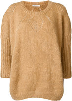 Mes Demoiselles textured knit sweater