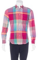 Gitman Brothers Plaid Button-Up Shirt