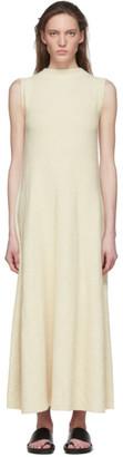LAUREN MANOOGIAN Off-White Sleeveless Dress
