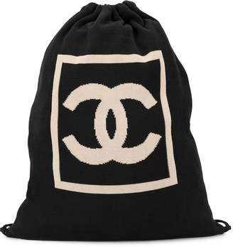 Chanel Pre-Owned Sports Line CC drawstring backpack