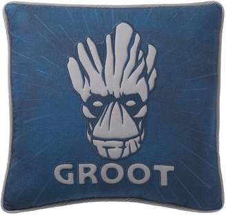 Pottery Barn Teen Guardians of the Galaxy Groot Pillow Cover, 18x18, Blue