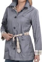 Barbour Oak Short Trench Coat - Reversible (For Women)