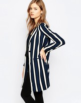 Selected Striped Blazer
