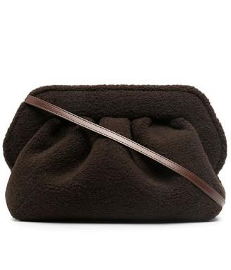 Themoire Bios eco fur clutch