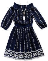 Sweet Heart Rose 2-Pc. Necklace & Dress Set, Big Girls (7-16)