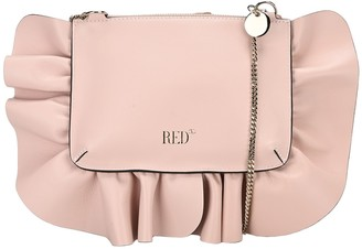 RED Valentino XL Rock Ruffles Clutch Bag