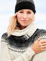 Talbots Glistening Fair Isle Sweater