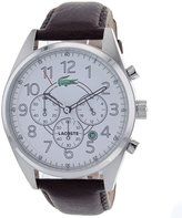Lacoste 2010620 Zaragoza Brown Leather Men's Watch