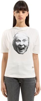 Vivienne Westwood Vivienne Printed Cotton T-shirt