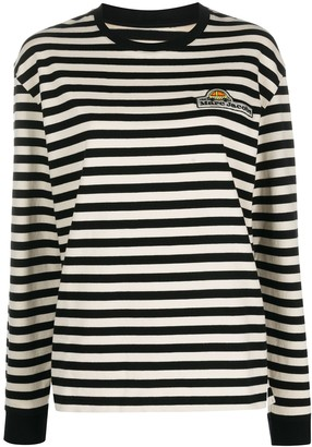 Marc Jacobs Striped Logo Jumper