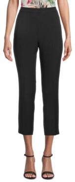 Bar III Slim Fit Pull-On Ankle Pants, Created for Macy's