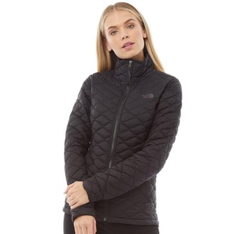 The North Face Womens Thermoball Insulated Jacket TNF Black Matte