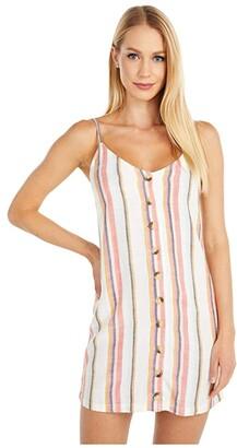 Rip Curl Seaport Stripe Dress (Multi) Women's Clothing