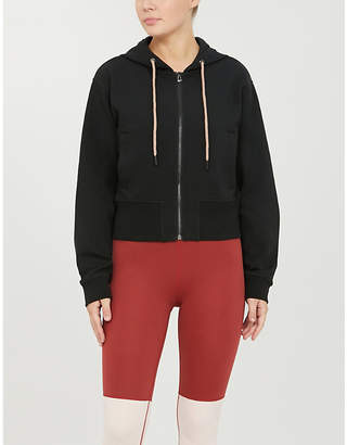 Varley Abourne cropped jersey hoody