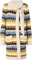 Chloé long knitted cardigan - women - Cashmere/Merino - S