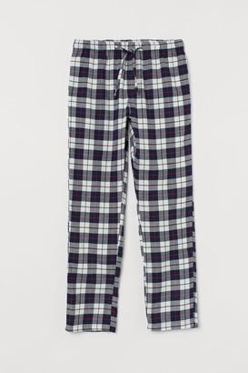 H&M Flannel pyjama bottoms