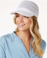 INC International Concepts Crochet Packable Baseball Cap, Created for Macy's