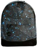 Topman Mi-pac Black And Blue Paint Splat Backpack*