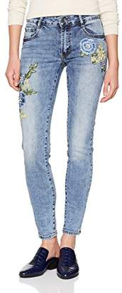 Cartoon Women's 8227/7269 Skinny Jeans, (Middle/Blue/Denim 8619)