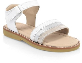 Elephantito Baby's, Little Girl's & Girl's Missy Leather Sandals