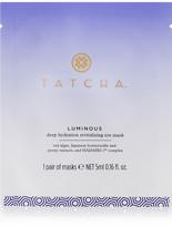 Tatcha Deep Hydration Revitalizing Eye Masks X 10 - one size