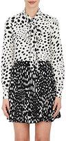 Marc Jacobs Women's Polka Dot Silk Tieneck Blouse
