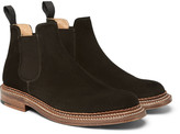 Grenson - Christopher Triple-welted Suede Chelsea Boots