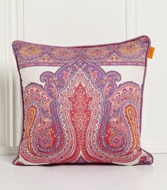 Etro Paisley Print Cushion (45Cm X 45Cm)