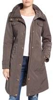 Ellen Tracy Women's Water Repellent Hooded Jacket