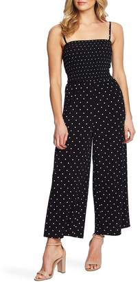 Cynthia Steffe CeCe by Polka Dot Sleeveless Jumpsuit
