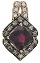 LeVian Le Vian 14K Rose Gold Rhodolite Garnet & 0.32ctw Diamond Pendant