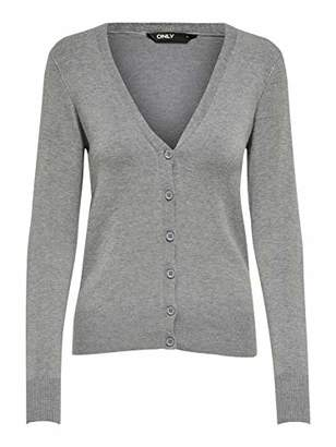 Only Women's ONLVENICE L/S V-Neck Cardigan KNT Sweater,L