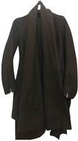 CNC Costume National Grey Wool Coat for Women