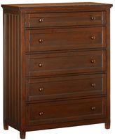 Beadboard 5-Drawer Dresser, Chestnut